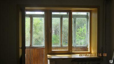 Дверь деревянная балконная - блок от 11900.00 руб. от компан.